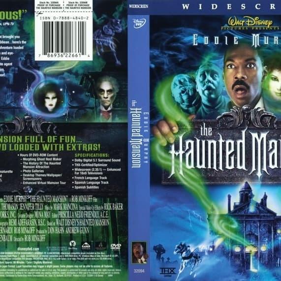Jual Film Dvd The Haunted Mansion 2003 Movie Collection Film Koleksi Jakarta Barat M Collector Tokopedia