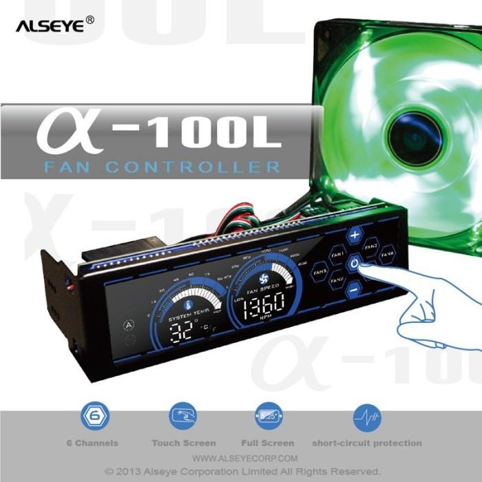 Jual ALSEYE Fan Controller for PC Fan Cooler 80mm 90mm 120mm Cooling Fan 6  - Kota Bekasi - tokosetiajaya | Tokopedia