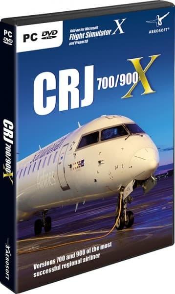 Jual FSX P3Dv3 P3Dv4 Addon Original Aerosoft CRJ 700/900 X - Kab  Bogor -  737_PIC | Tokopedia