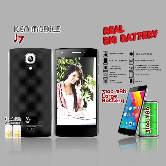harga Ken mobile j7 - 1gb/8gb Tokopedia.com