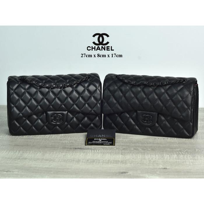 bc5d5ddc98c9 Jual Tas Chanel Al9601 Classic Flap Medium Bhw Hitam Semi Premium - Kota  Batam - Ok Bag Collection | Tokopedia