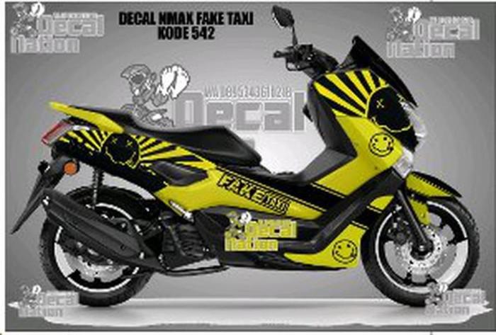 Jual STICKER DECAL NMAX FAKE TAXI KODE 542 STIKER MOTOR STIKER DECAL NATION  - Kab  Bandung - OIN SHOP   Tokopedia