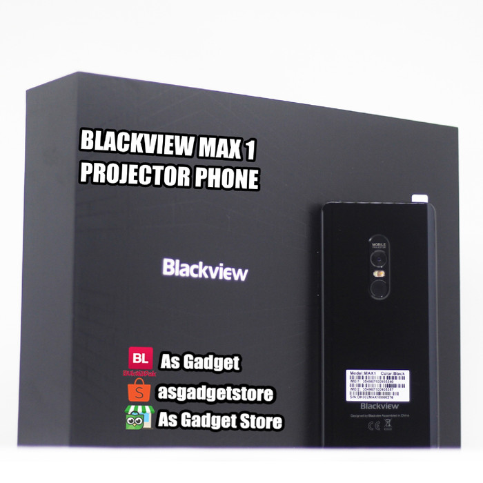 harga Blackview max 1 6gb 64gb projector phone infokus Tokopedia.com