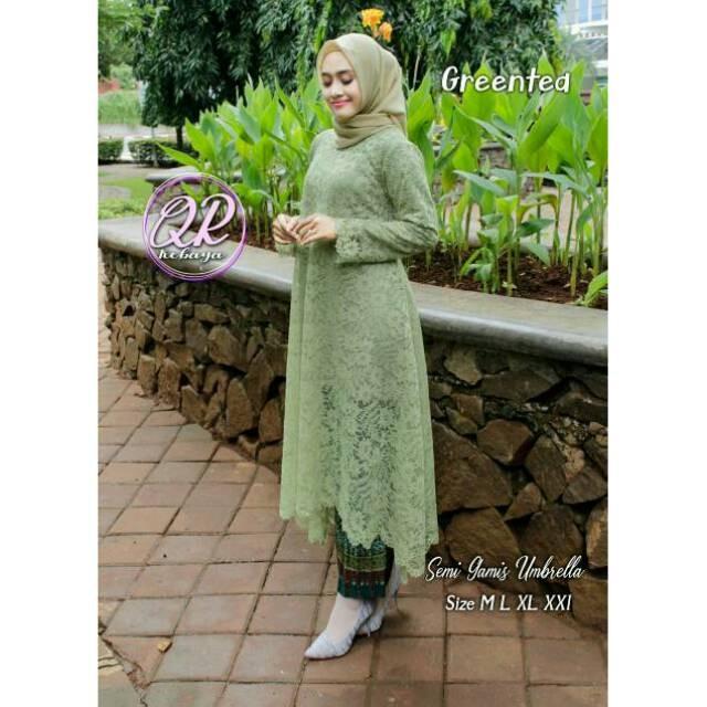 Jual Kebaya Semi Gamis By Nk Bahan Brukat Modern Rok Prisket Dki Jakarta Lady Stock Tokopedia