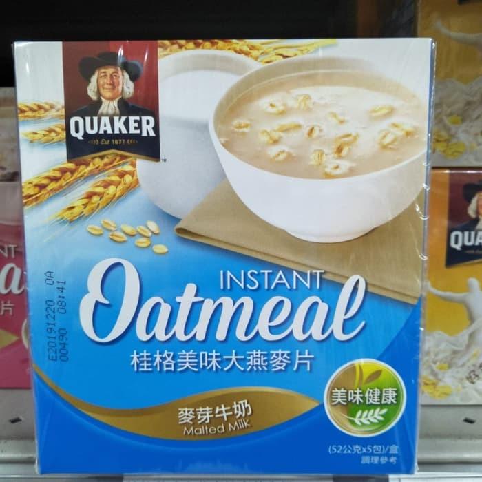 Jual Quaker Oatmeal Taiwan Sereal Makanan Sehat Sarapan Pagi
