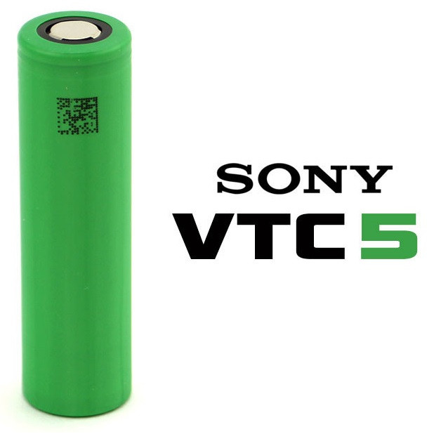 Foto Produk Authentic Sony US18650 VTC5 Vtc 5 2600mAh 30A Battery Batre Vapor dari VapeOi