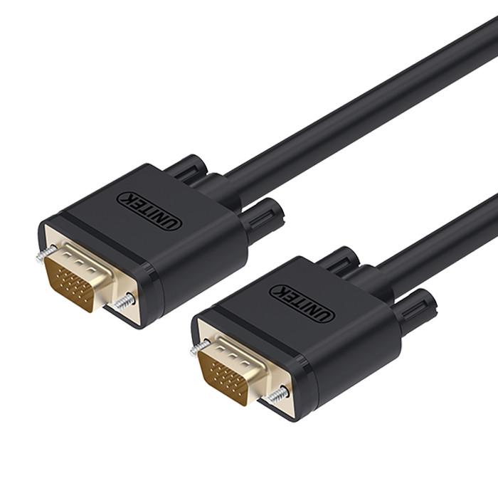 Foto Produk Kabel VGA To VGA 3 Meter -Merk Unitek (YC504G) dari Enter Komputer Official