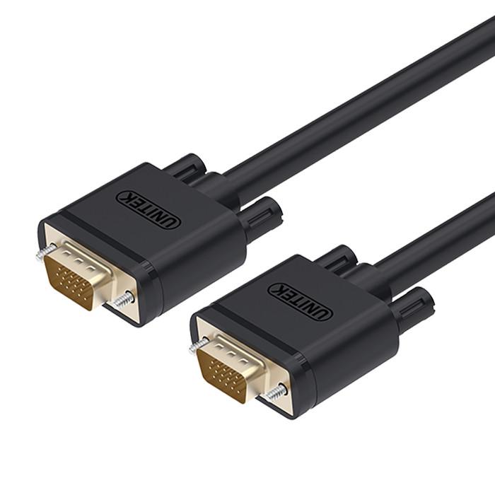 Foto Produk Kabel VGA To VGA 5 Meter -Merk Unitek (YC505G) dari Enter Komputer Official
