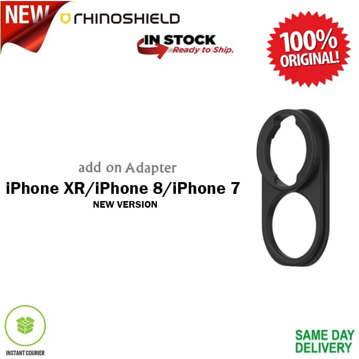 Foto Produk RhinoShield Lens Adapter for iPhone XR/ 8/ 7 (New Version) dari Spigen Indonesia