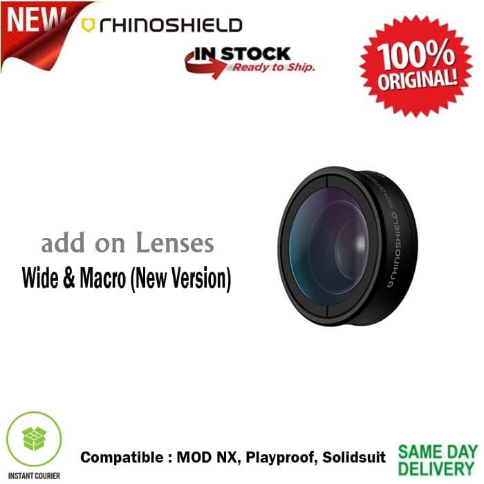 Foto Produk RhinoShield Lens Wide + Macro (New Version) iPhone / Samsung dari Spigen Indonesia