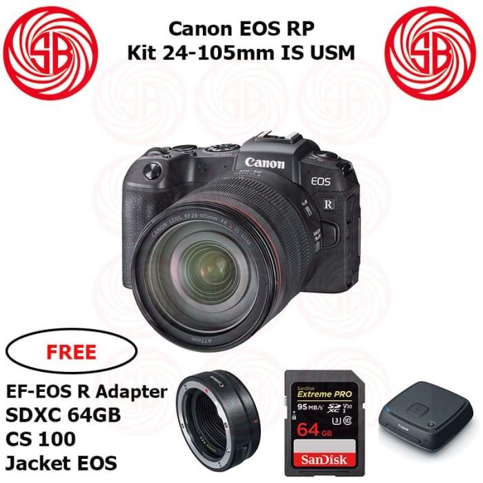 Jual Kamera Canon Eos Rp Kit 24 105 Camera Mirrorless Canon Full