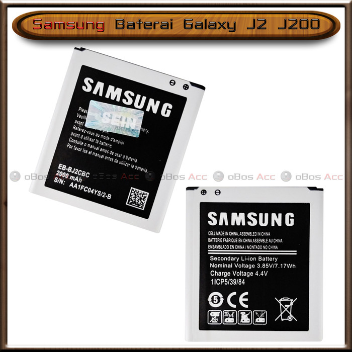 Foto Produk Baterai Samsung Galaxy J2 J200 Original Batre Batrai HP dari oBos Acc