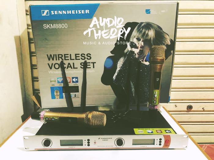 harga Sennheiser skm8800 - mic wireless microphone pegang skm 8800 Tokopedia.com