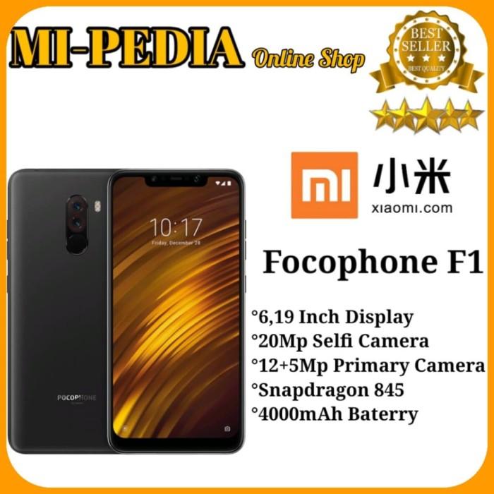harga Xiaomi pocophone f1 [6/128] global version garansi distributor 1 tahun - red distri Tokopedia.com