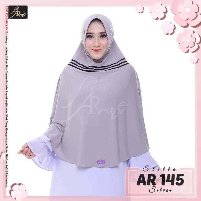 Jual Jilbab Arrafi Kode Ar 145 Hijab Bergo Jumbo List Kab Kudus Nurha Hijab Kudus Tokopedia
