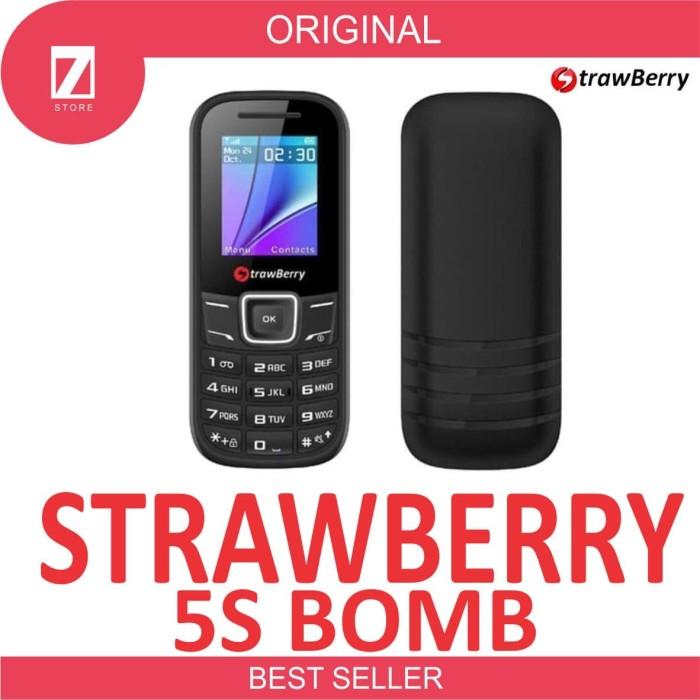 Foto Produk STRAWBERRY BOMB S5 HP MINI RADIO FM WITH BLUETOOTH dari Seven Store 007