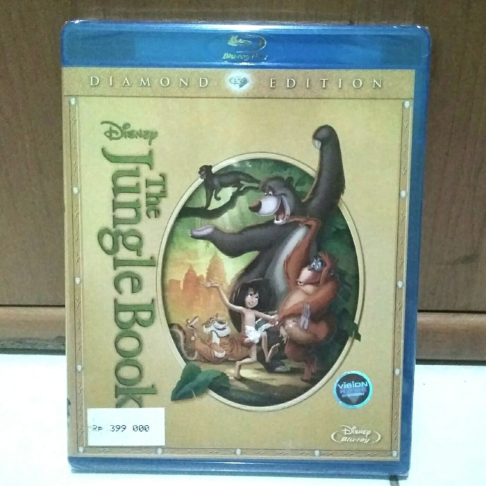 Jual Bluray The Jungle Book Cartoon Original Jakarta Utara Khanza Movie Original Tokopedia