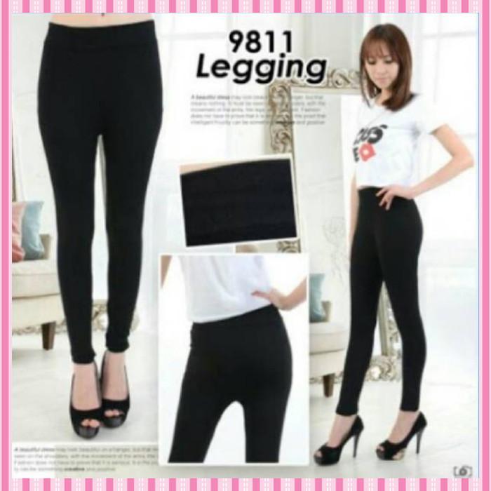Jual Terbaru Legging Celana Legging Basic Hitam Polos Leging Wanita Jakarta Barat Accoris Tokopedia
