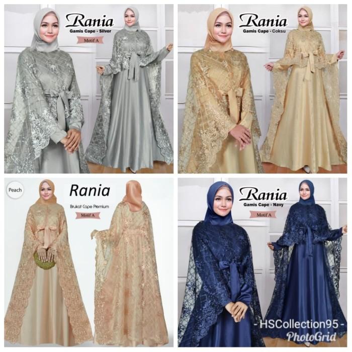 Jual Gamis Pesta Pernikahan Wanita Muslim Muslimah Mewah Rania Terbaru Black Jakarta Barat Hscollection95 Tokopedia