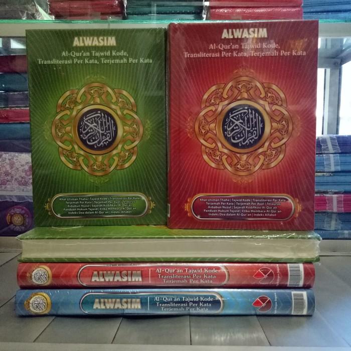 harga Alquran alwasim sedang al-quran tajwid arab-latin-terjemah murah Tokopedia.com