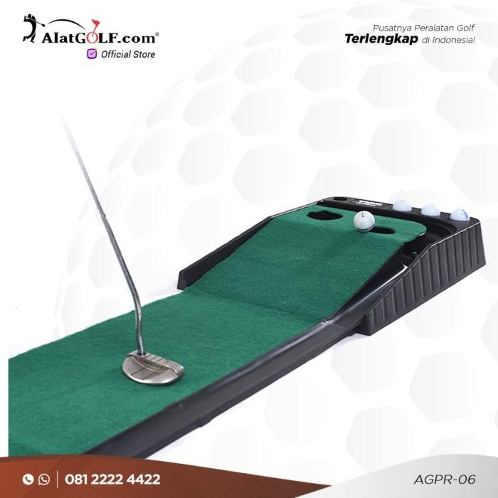harga Putting practice mat karpet golf (automatic return) - economy a Tokopedia.com