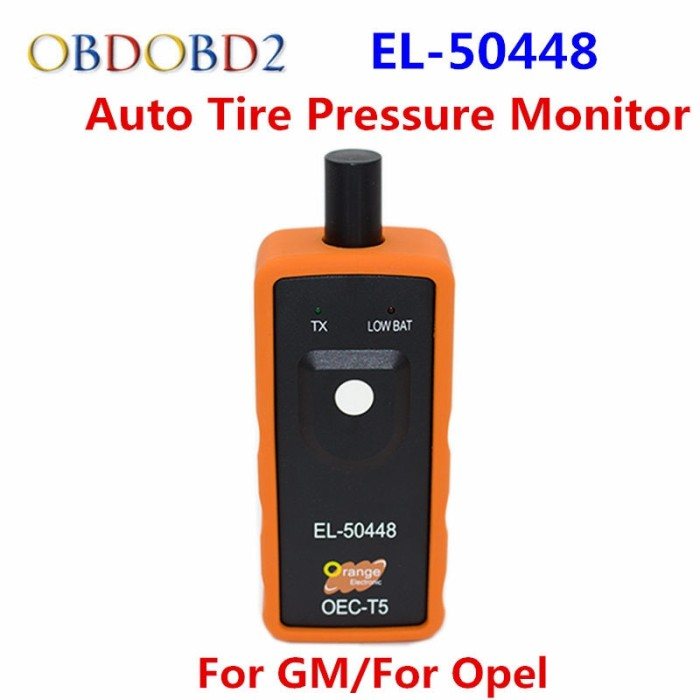 Auto Tire Pressure Monitor Sensor TPMS Activation Tool  El-50448 OEC-T5 For GM
