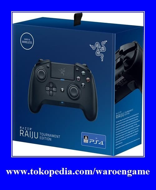 Jual Razer Raiju Tournament Edition Bluetooth Wired Connection (PS4 PC USB)  - DKI Jakarta - Waroengame | Tokopedia