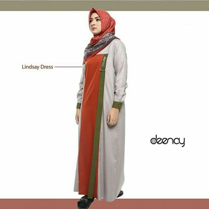 Jual Lindsay Dress By Deenay Gamis Deenay Kab Ciamis C Nc Shop Tokopedia