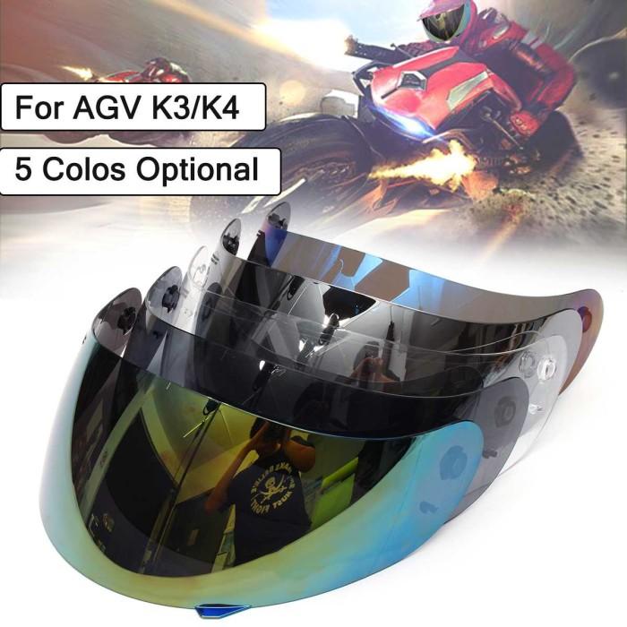 Jual Full Face Shield Motorcycle Helmet Visor Lens Shield For Agv K3 K4 Kota Surakarta Karimunteshop Tokopedia