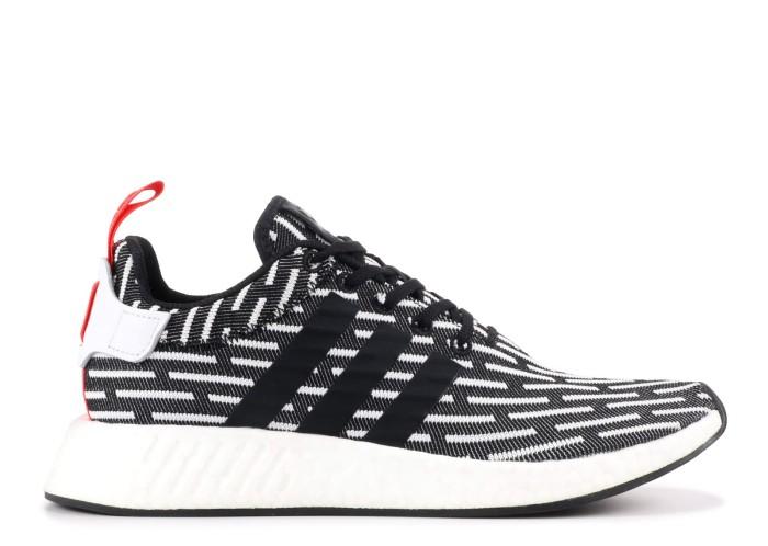 Jual Sepatu Sneaker ADIDAS Murah NMD R2 PK BLACK WHITE Jakarta Utara Waisamba99 | Tokopedia