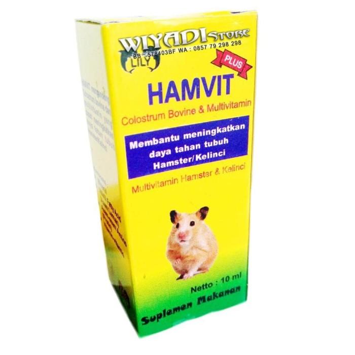 Jual Promo Vitamin Hamster Kelinci Sugar Glider Landak Mini