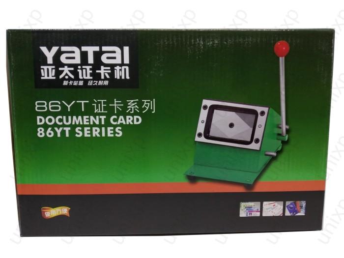 Foto Produk Mesin Pon Potong Plong Puncher PVC ID Card Cutter Standard dari unixp