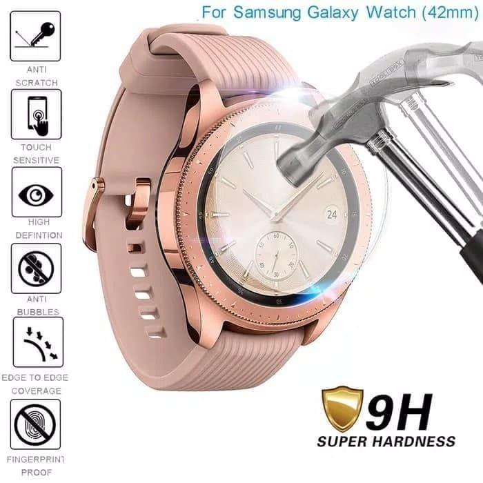 Foto Produk Tempered Glass Samsung Galaxy watch 42mm /S4/Gearsport/Garmin Instinct dari great acc