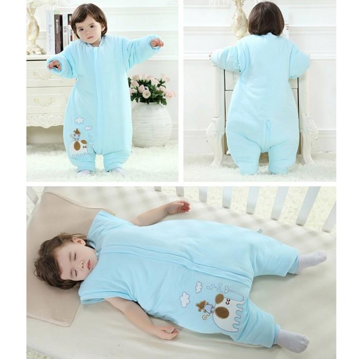 ac2f65c11 Jual Baju Bayi Flannel Baby Sleeping Bag Toddler Kids Pajamas ...