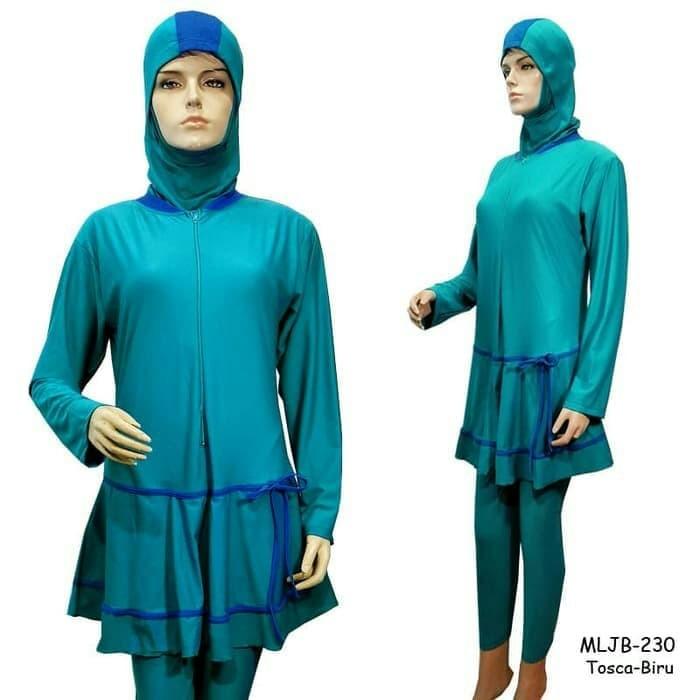 Baju Renang Muslim Polos Premium Jumbo 7L BRM-P230a