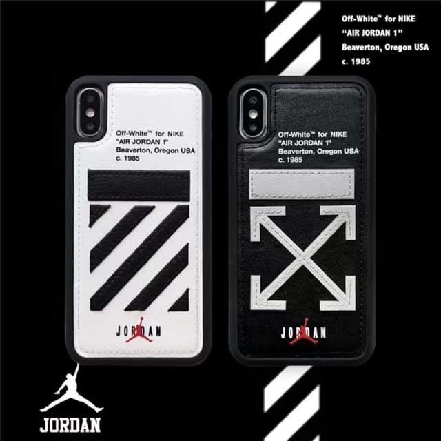 new style cd1aa e8ecc Jual Off White Air Jordan Phone Case Iphone XR /XS Max/ Iphone 8/ 7 Plus/ 6  - - Jakarta Utara - Young by Nature   Tokopedia