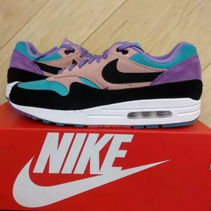 sports shoes 7614f 5571b Nike AirMax 1  Have A Nike Day  Purple Blue NEW! 100% ORIGINAL air max