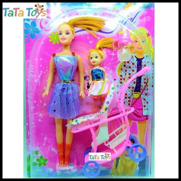 Jual Gratis Ongkir Boneka Barbie Dengan Kereta Bayi Modern Girl With Baby Jakarta Barat Rizkimahendrastore Tokopedia