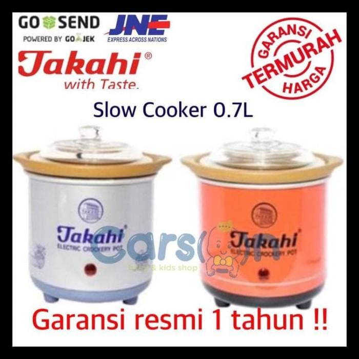 Jual Slow Cooker Takahi 0 7l Murah Jakarta Pusat Anas Muna Tokopedia