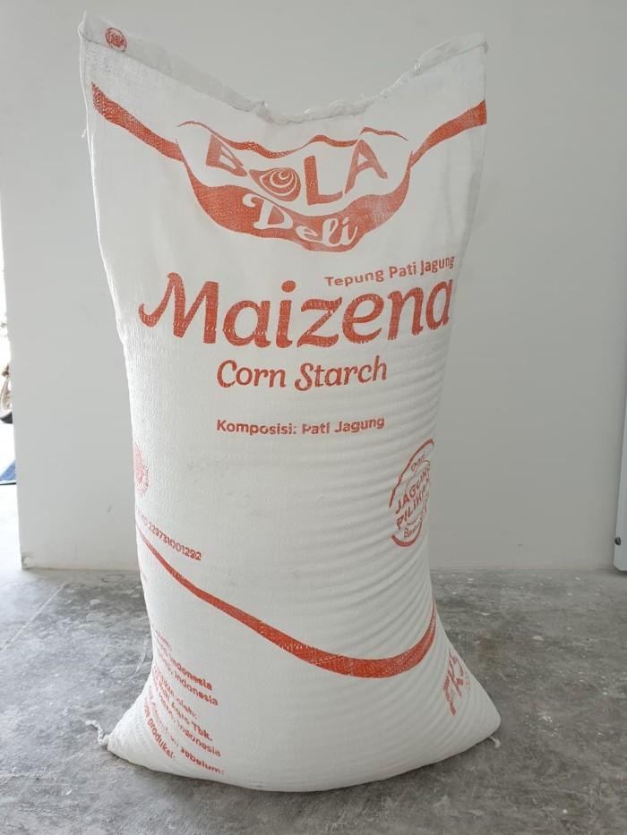 Foto Produk BOLA DELI Tepung Pati Jagung (Maizena / Corn Starch) 25 KG dari Terigu Online