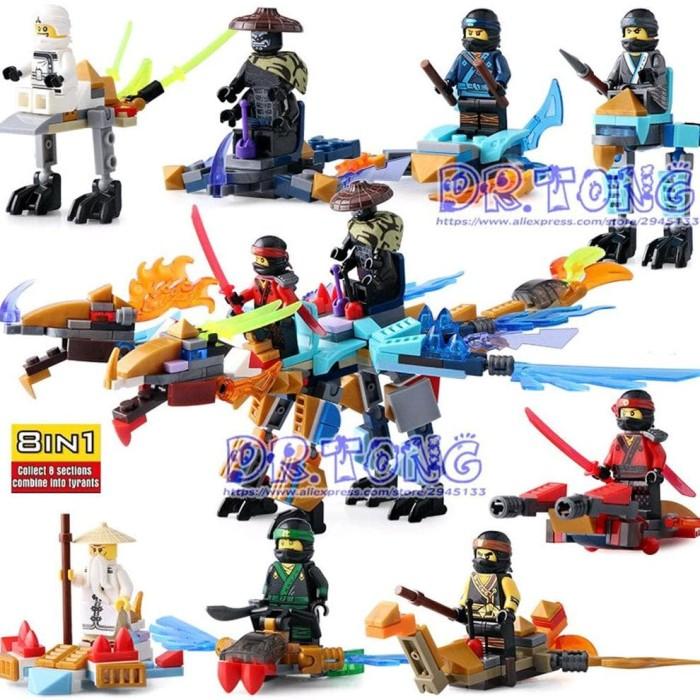 Jual Lego Figure Ninjago Kendaraan Motor Lele 79270 1set Henrygo