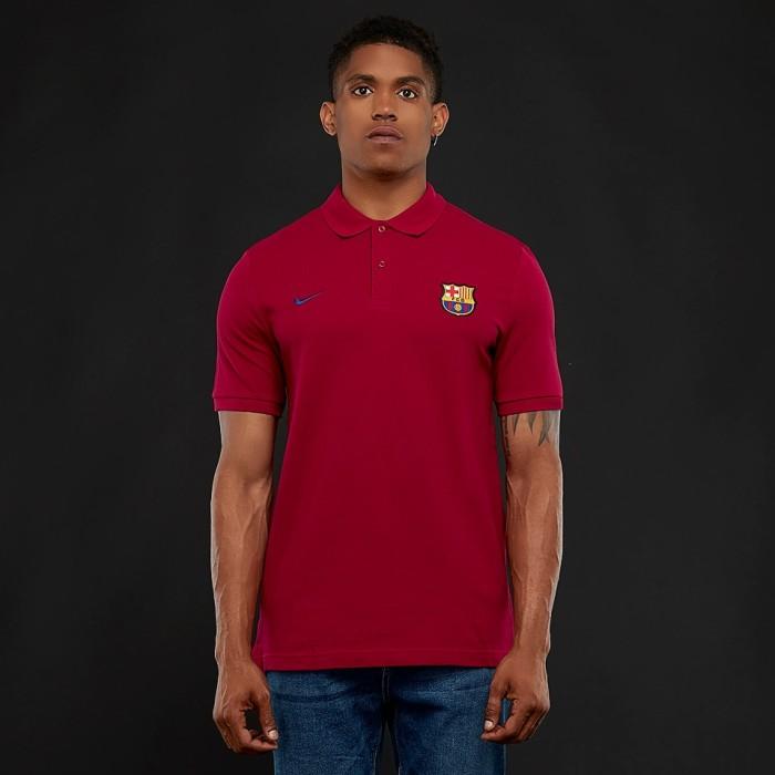 ce84098d Jual Nike FC Barcelona 2018/19 NSW Polo Shirt - Noble Red/Deep Royal ...