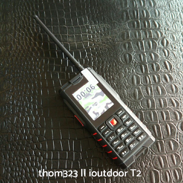 harga Ioutdoor t2 hp outdoor tahan air tahan debu ht walkie talkie uhf murah Tokopedia.com