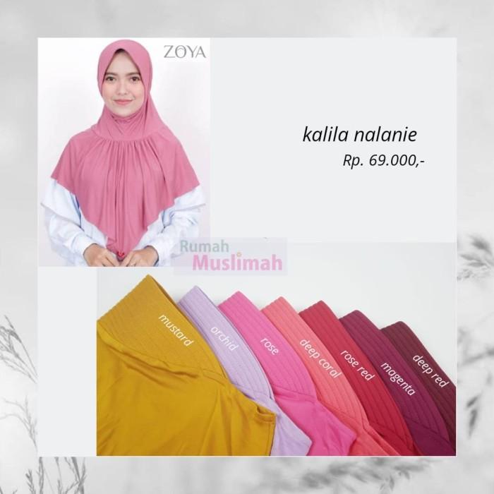 Jual Jilbab Bergo Kalila Nalanie Zoya Kab Bekasi Agen Elzatta Hijab Tokopedia