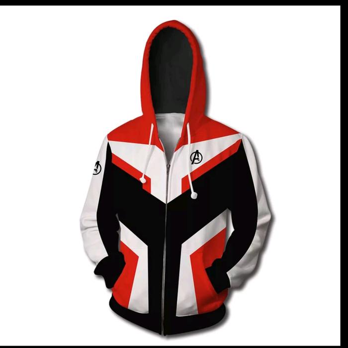 Quantum Realm Avengers Endgame Sweatshirt Jacket Advanced Tech Hoodie Pants Sets