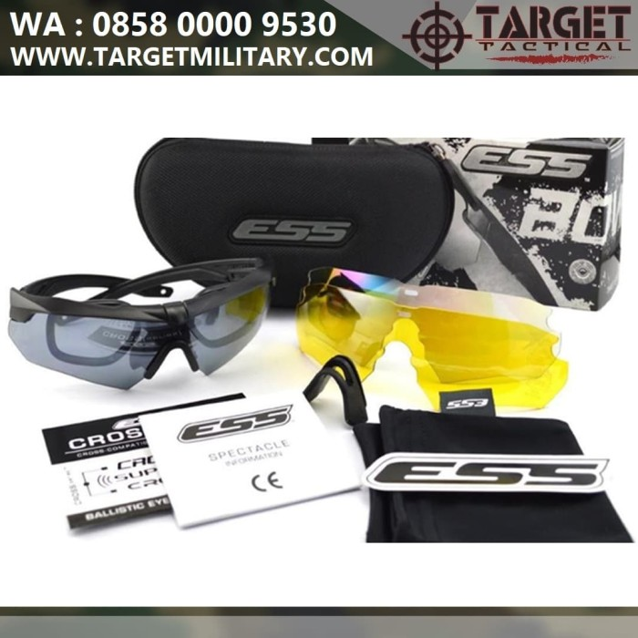 harga Kacamata sporty outdoor motor tactical ess crossbow import Tokopedia.com