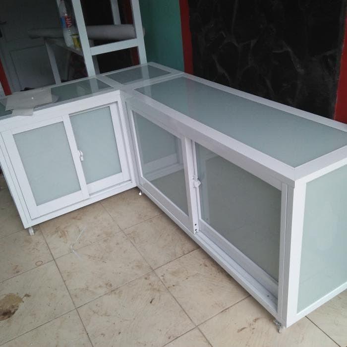 Jual Promo Murah Kitchen Set Aluminium Dapur Aluminium Pintu
