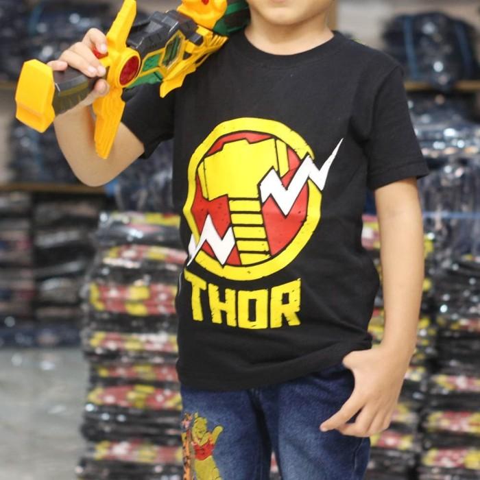 Foto Produk Baju Kaos Anak Superhero Thor Terlaris, Termurah - 1-2 tahun dari NAZAH KIDS ID