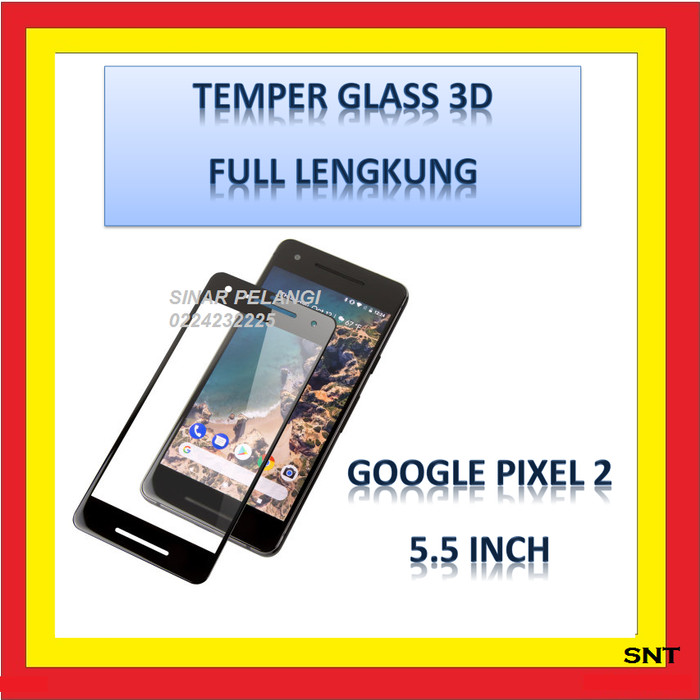 harga Temperd glass 3d full cover full glue google pixel 2 black 908823 Tokopedia.com