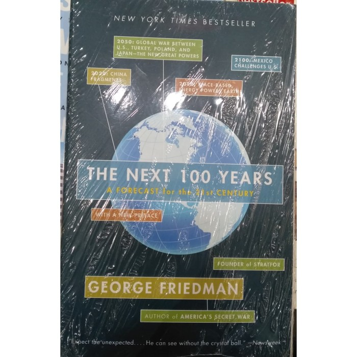The Next 100 Years >> Jual The Next 100 Years George Friedman Buku Import Kota Surabaya Librumia Tokopedia